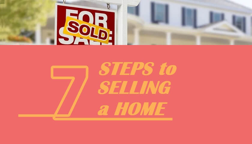 Seven Steps for Selling a Home
